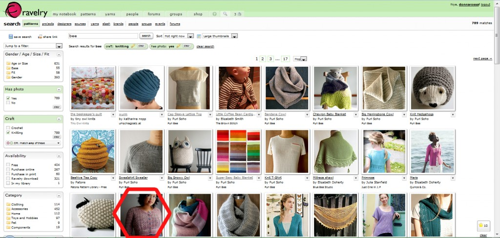 ravelry research
