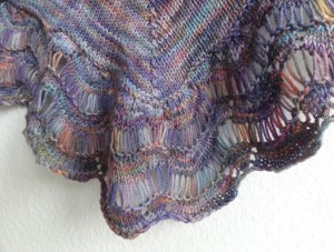 FO – Afterglow shawl