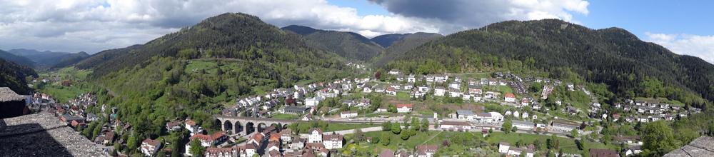 hornberg panorama