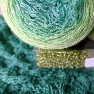 FO – Sweetness and Light Shawl MKAL