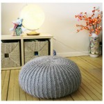 Let's knit a pouf – a knit event in Lucerne