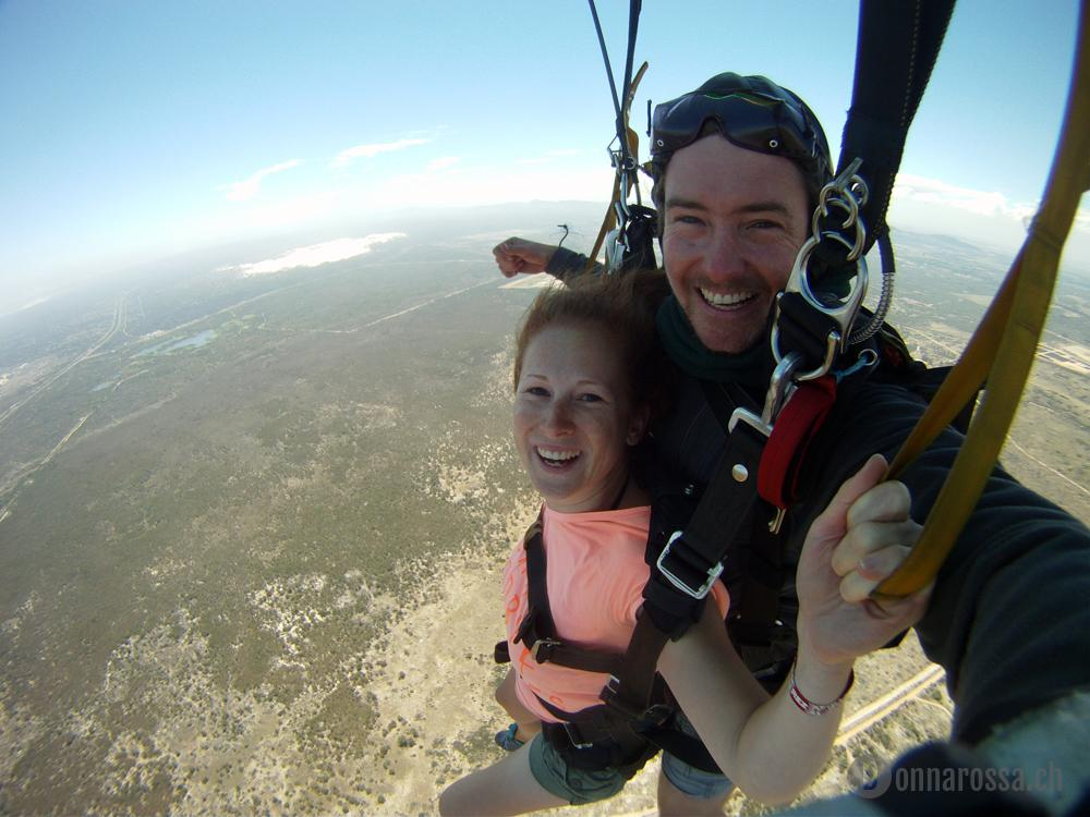skydive - having everything under control