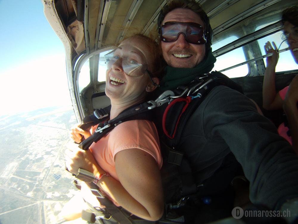 skydive - jump of the aeroplane