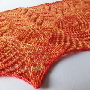 FO – Fine Vine shawl