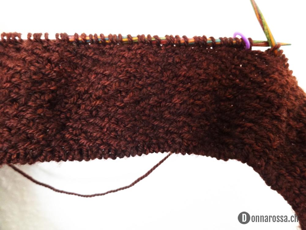 Henry scarf - progress