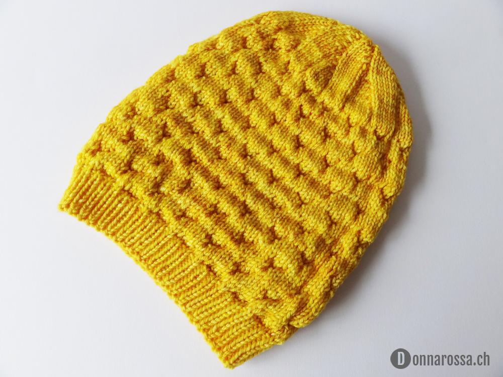 Honey hat - inside out