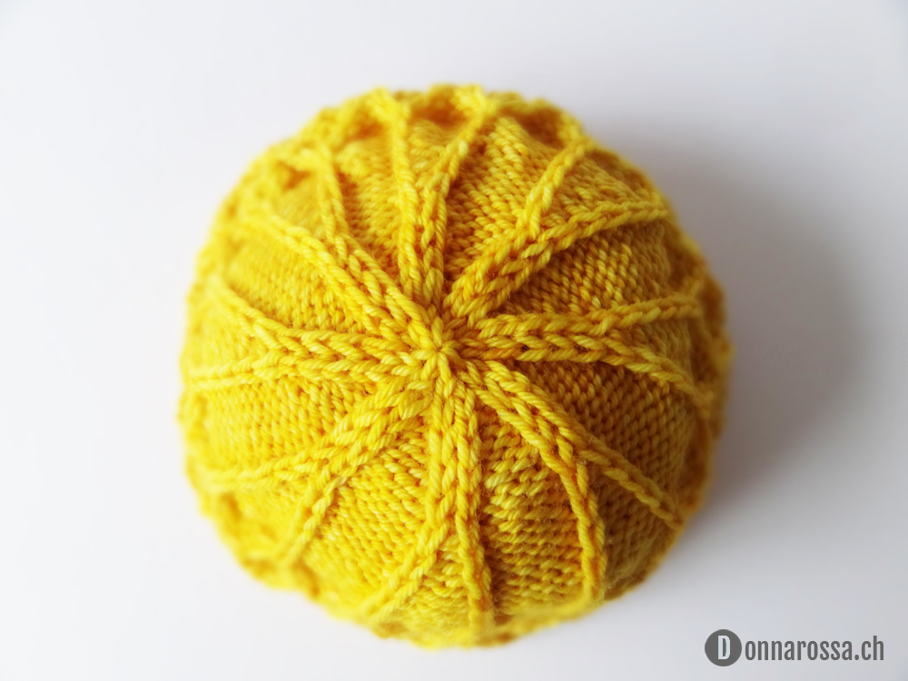 honey hat - crown shaping