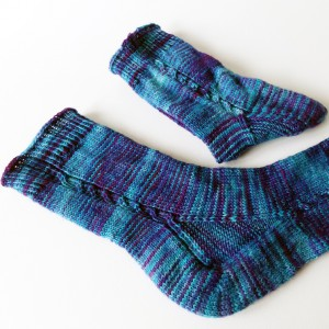 "FO – Not so ""brainless"" socks"