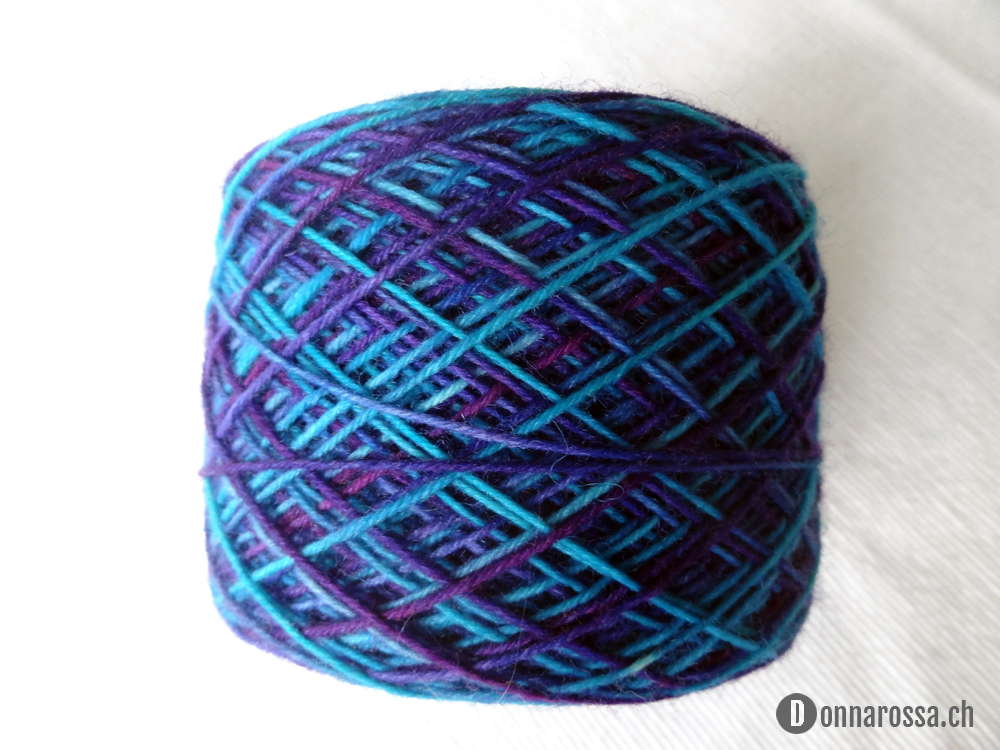 Not so brainless socks - yarn