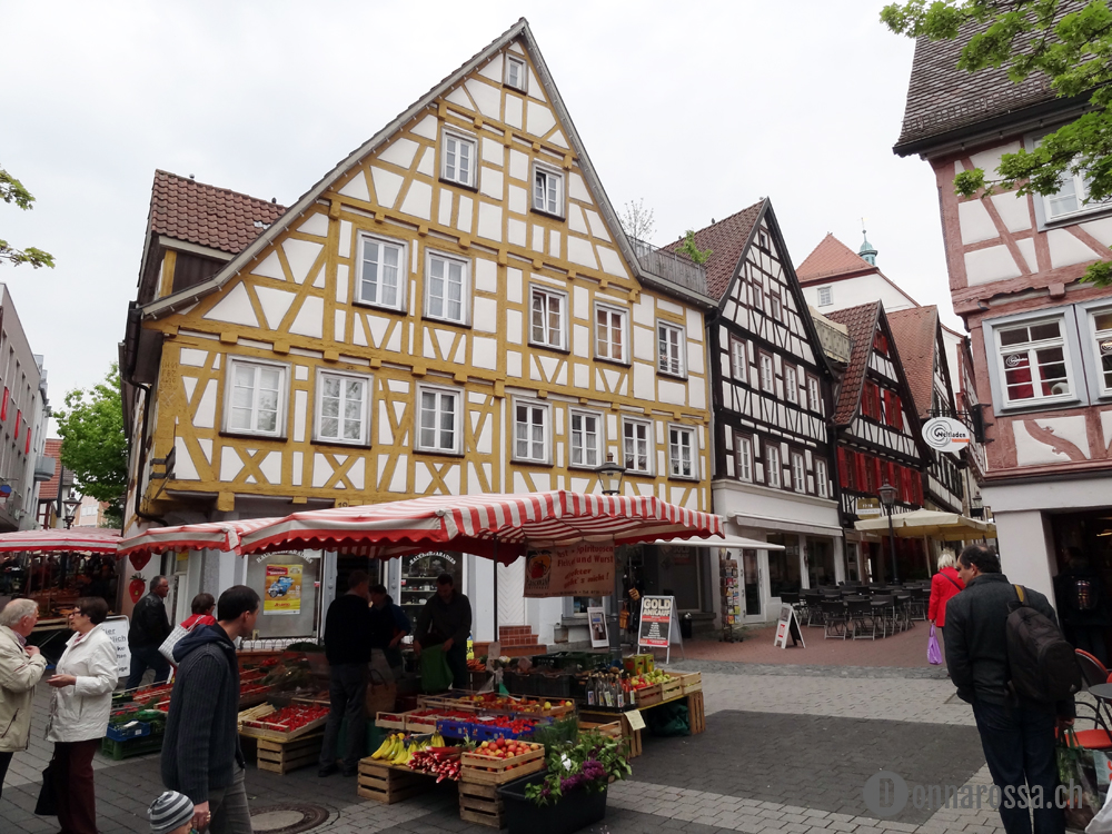 Backnang Wollfestival 2014_down town