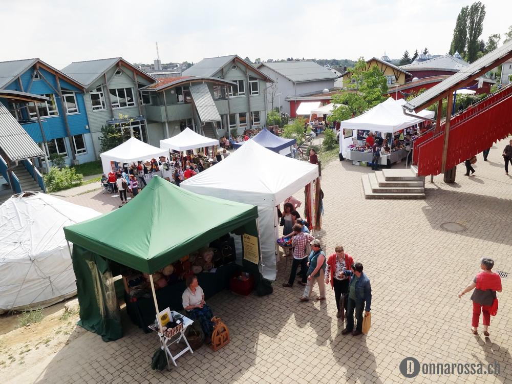 Backnang Wollfestival 2014_festival area