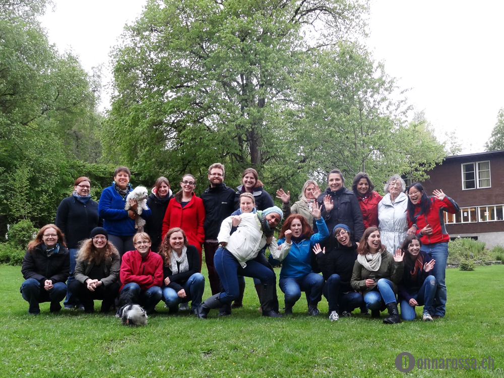 Stitching Retreat 2014 - group picture