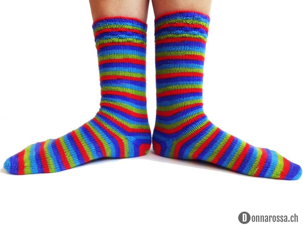 Stripey socks - wear it