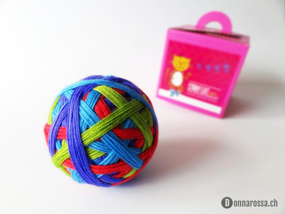 Stripey socks - yarn