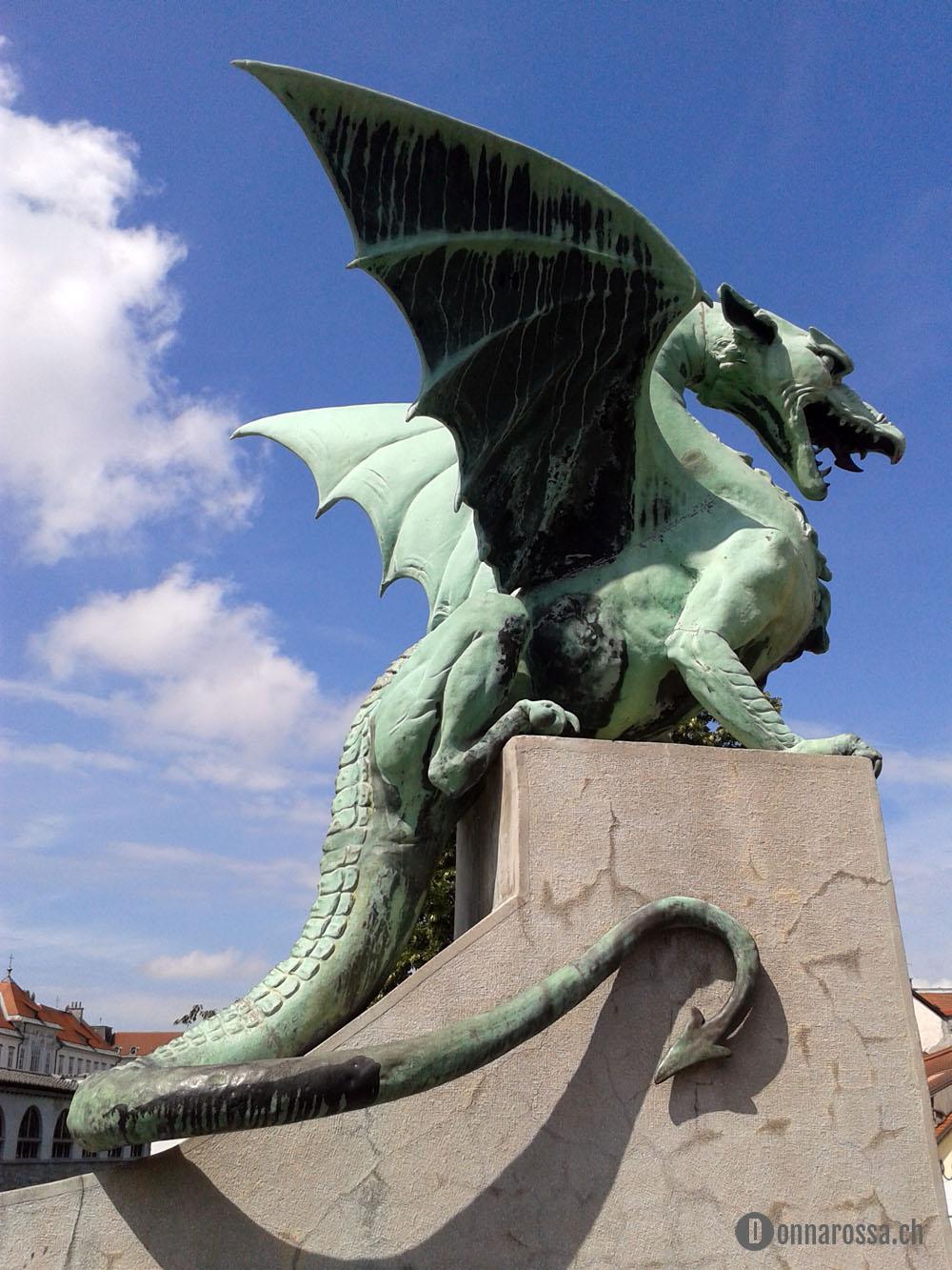 Ljubljana - the dragon