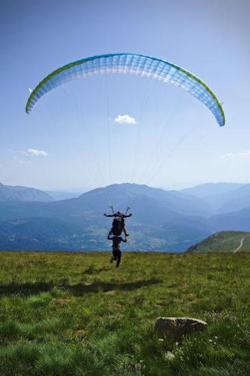 pyrenees paragliding castejon de sos
