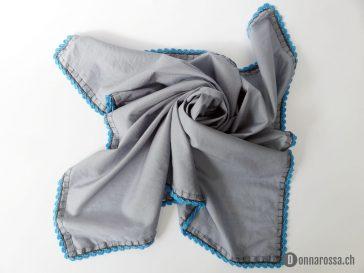 FO – Shawl with crochet border