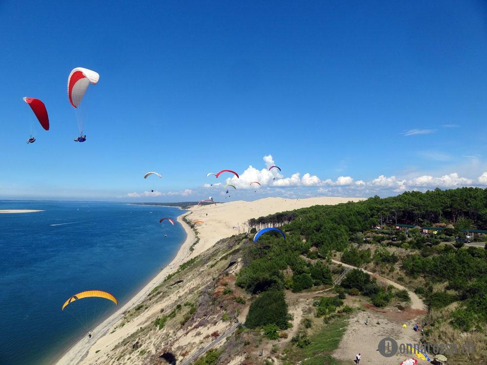 dune du pyla paragliding paraglider