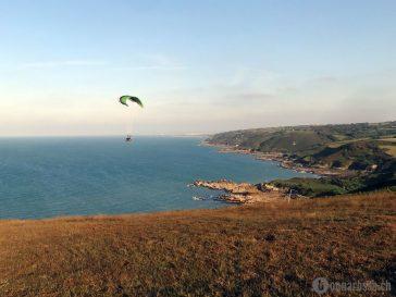 paragliding normandie normandy omonville-la-rogue