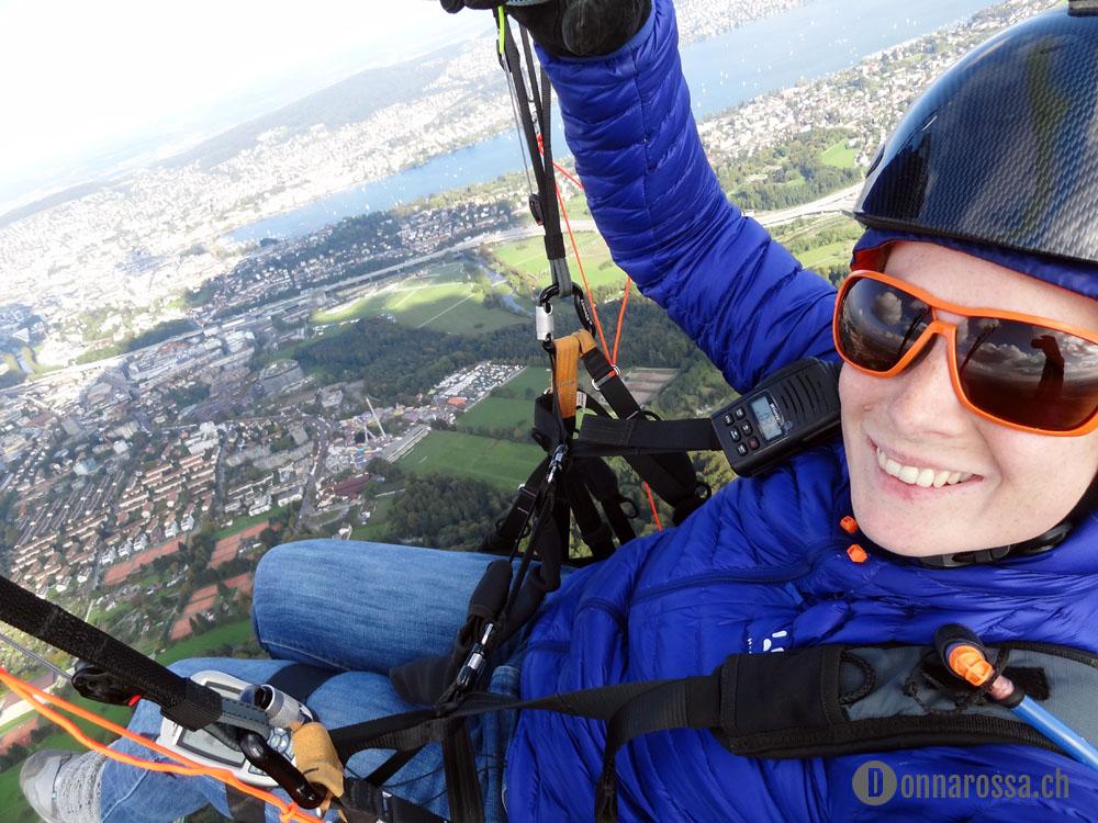 Zürich Zurich Uetliberg paragliding paraglider