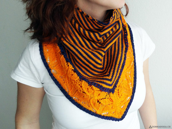 Flickflauder shawl in persona person