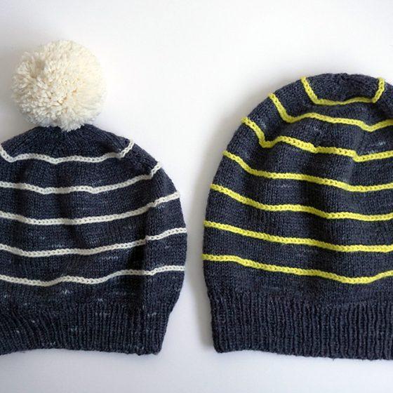 Saldanha hat small and large mütze streifen klein gross