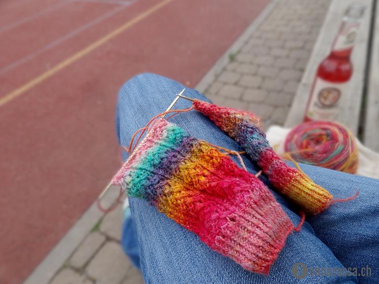 backnang 2015 - wip hedera socks