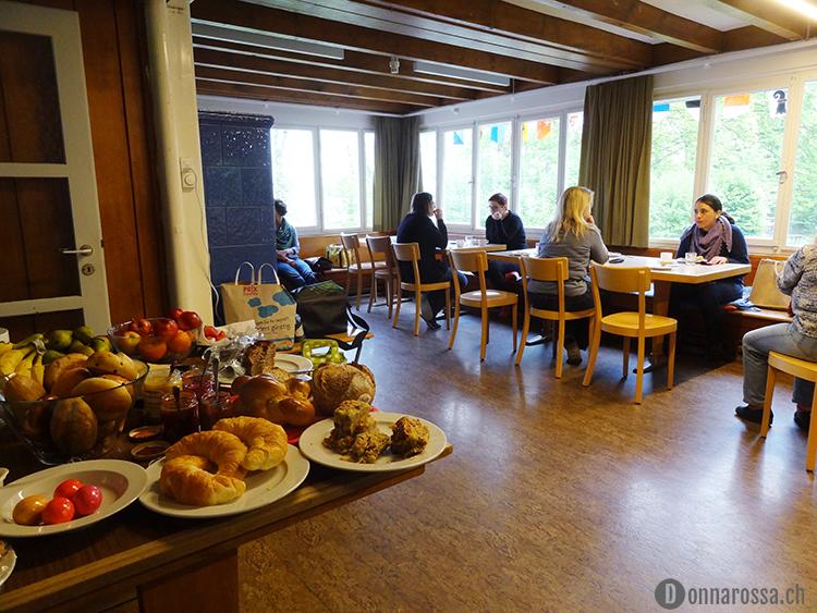 Stitching Retreat 2015 - breakfast buffet
