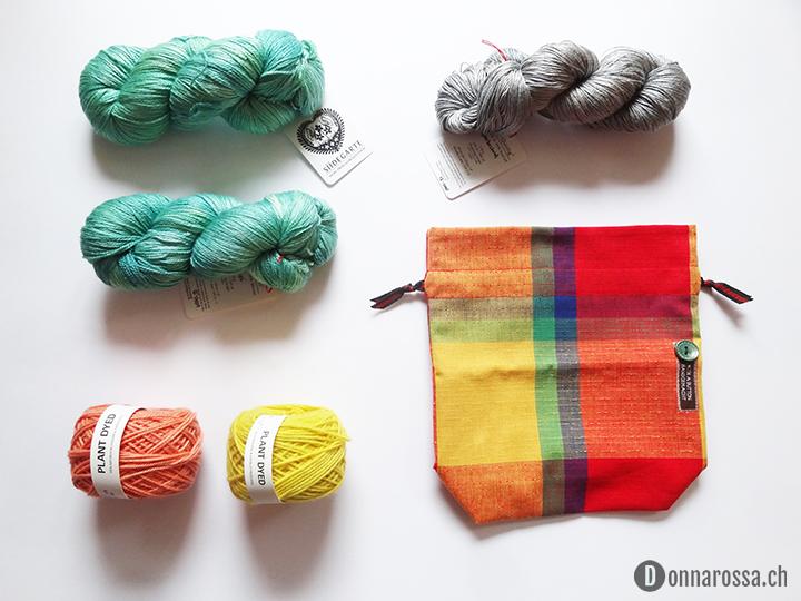 Stitching Retreat 2015 - yarn haul