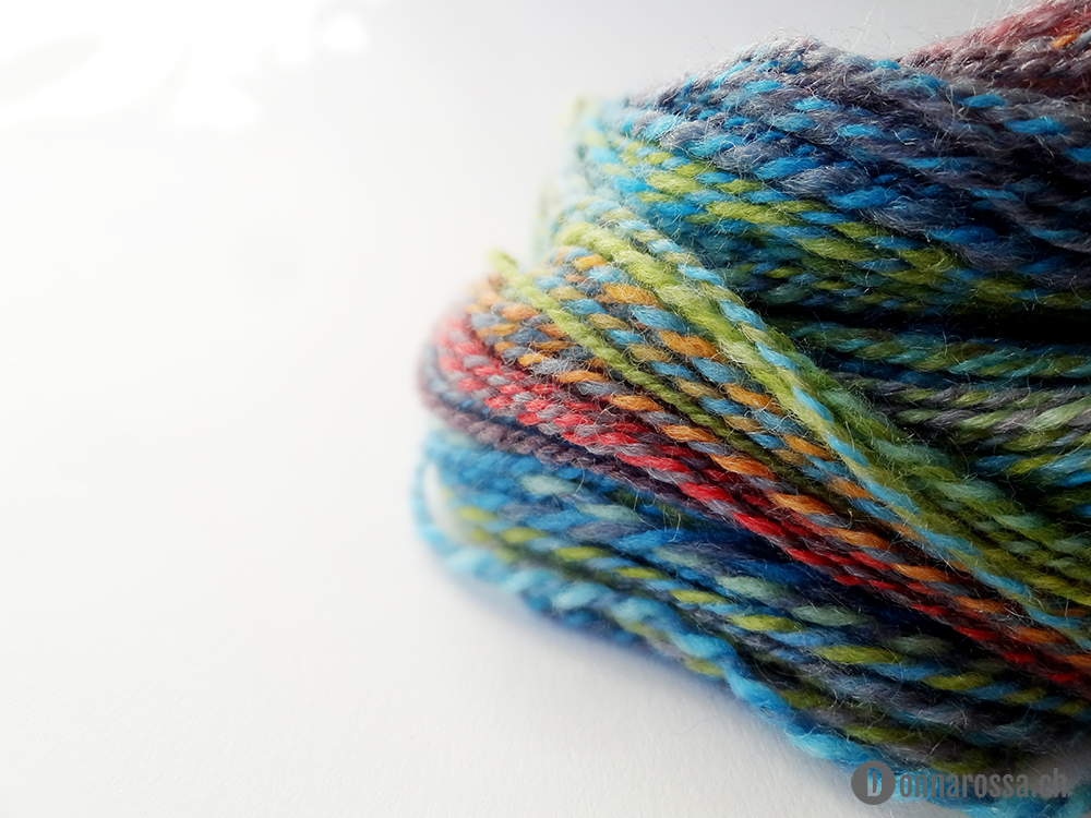 Garden shadow small skein close up