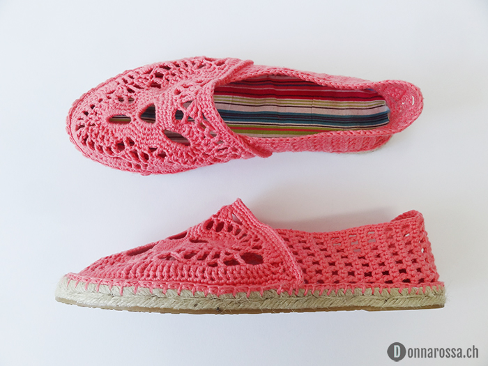 espadrilles - finished top side