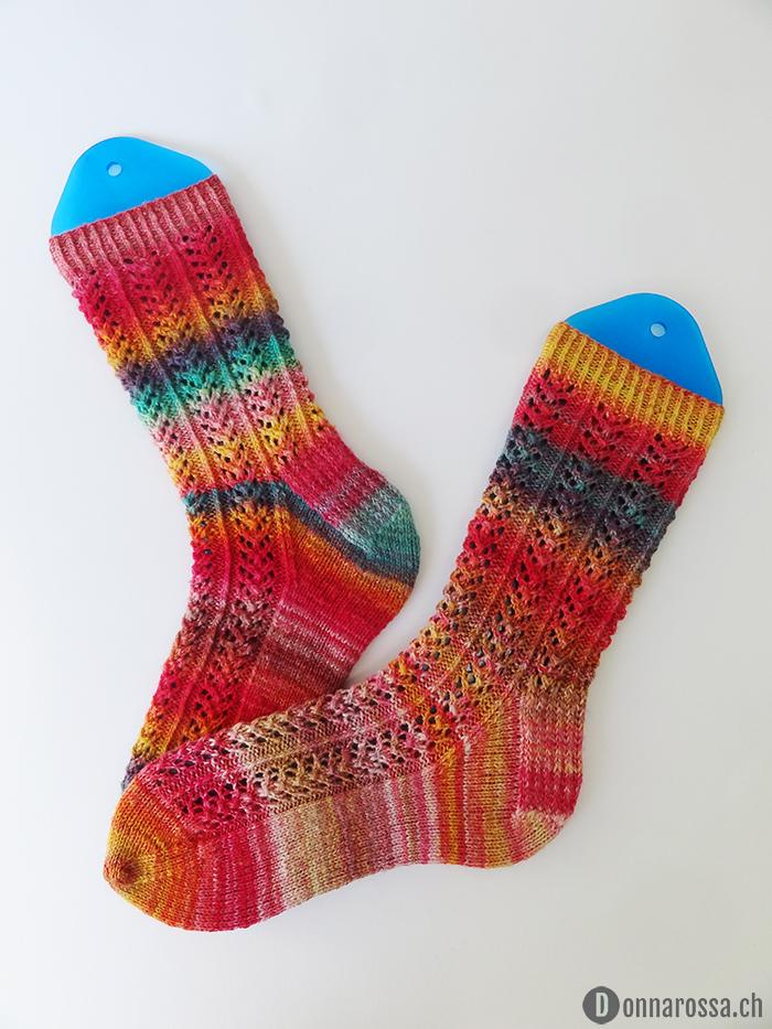 hedera socks - finished