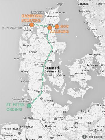 map roadtrip denmark north east