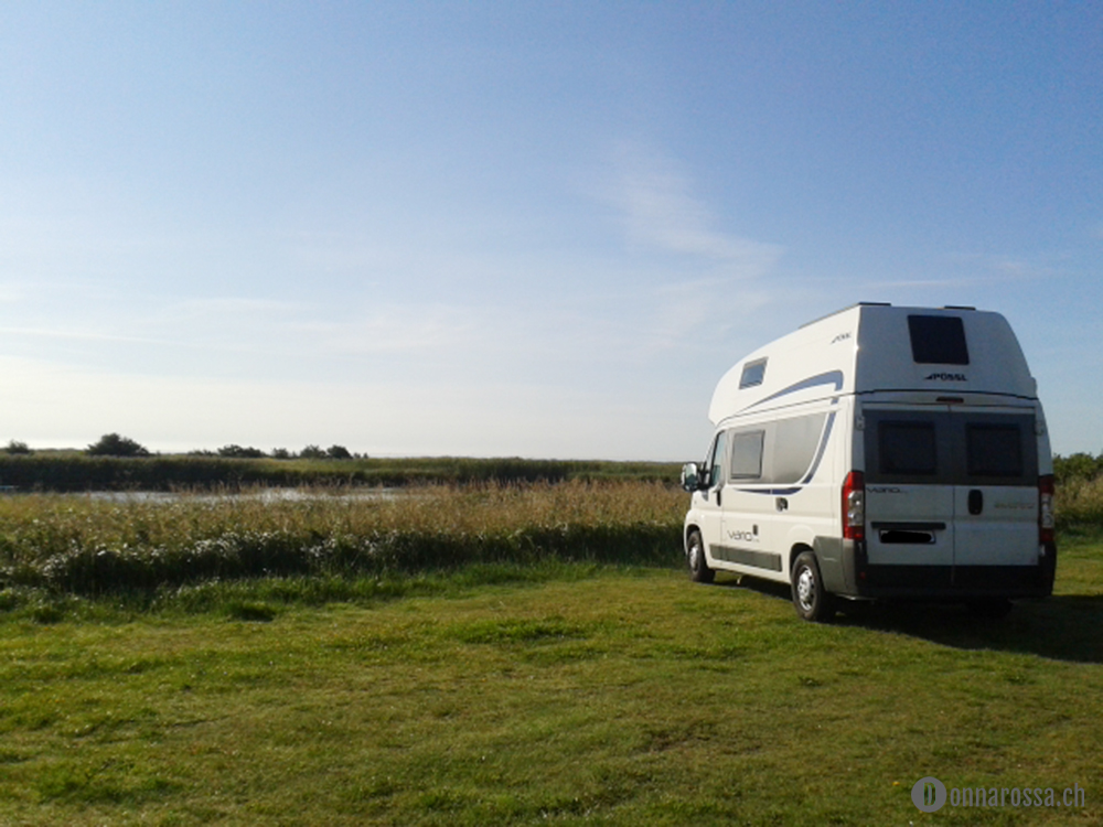 roadtrip denmark hou beach wild camping