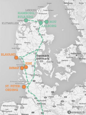 roadtrip denmark south route