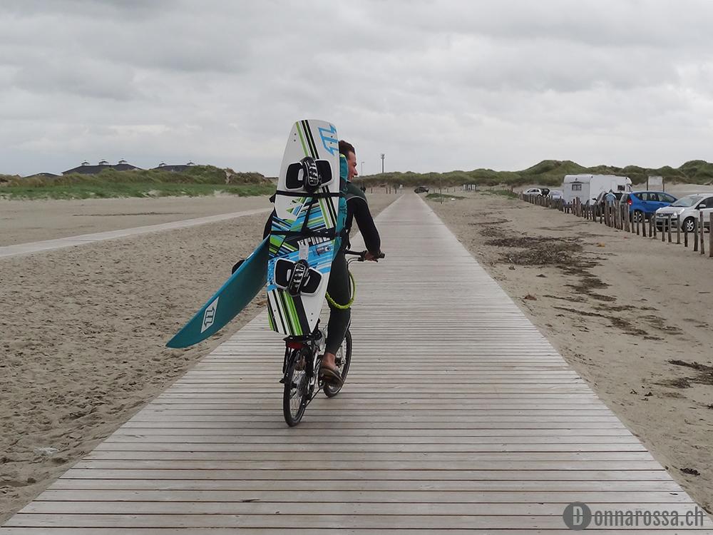 sankt peter ording kite bike beach