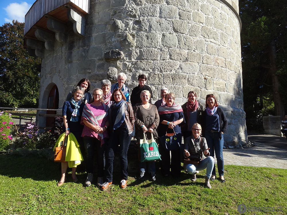 swiss yarn festival 2015 workshop students