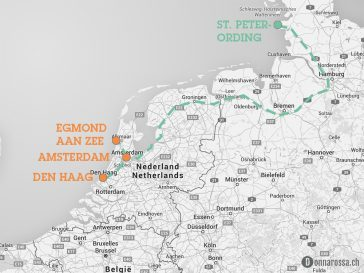 map roadtrip netherlands