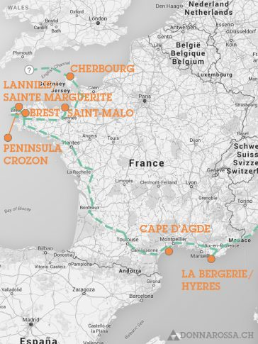roadtrip france map