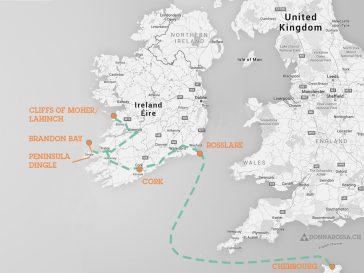 map roadtrip campervan ireland
