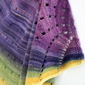 FO – Dotted Rays shawl
