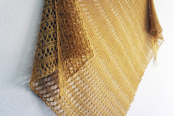 Langebaan shawl detail tuch