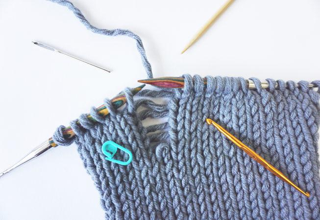 strickfehler beheben fixing knitting mistakes