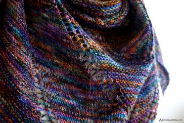 fifth avenue shawl tuch stricken knit