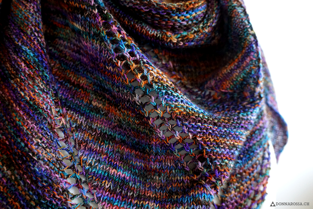 fifth avenue shawl detail stitches