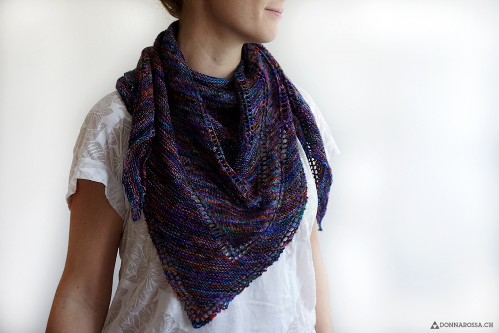 fifth avenue shawl on person