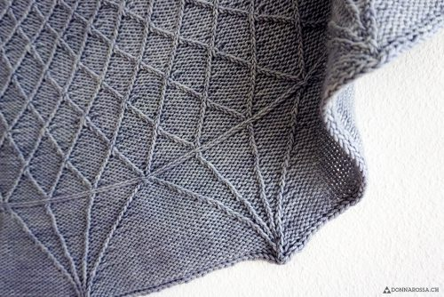 Palazzetto shawl twist collective donnarossa knitwear designs