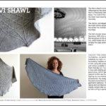 Mein erstes Design für ein Magazin: Palazzetto Tuch