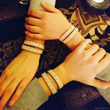 Wrist ruler Fringe Supply co leather