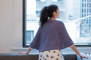 palazzetto shawl tuch design knit stricken
